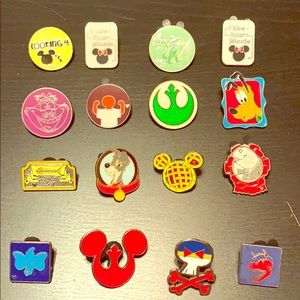 disney and misc pins